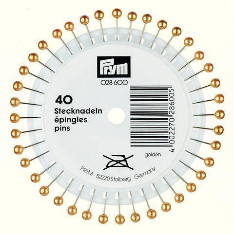 Perlkopf-Stecknadeln 0,65 x 38mm von Prym kaufen im Makerist Materialshop