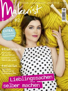 Makerist Mag #2 - Magazin für den Handmade Lifestyle - Bücher und Zeitschriften kaufen im Makerist Materialshop