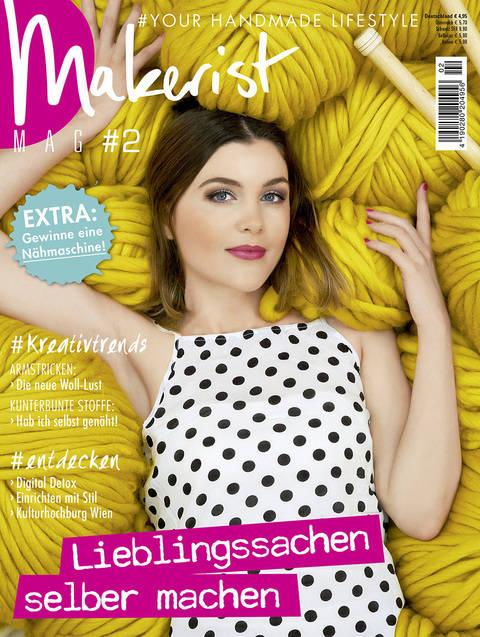 Makerist Mag #2 - Magazin für den Handmade Lifestyle kaufen im Makerist Materialshop