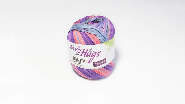 Woolly Hugs: Bandy - 09 blaulila - Wolle und Garn kaufen im Makerist Materialshop