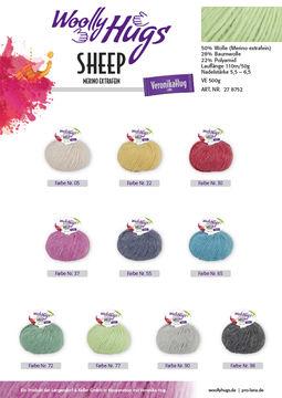Woolly Hugs - Sheep von Veronika Hug - Wolle und Garn kaufen im Makerist Materialshop