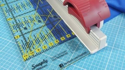 Snaply Cutting Ruler - 70 cm x 11.5cm kaufen im Makerist Materialshop