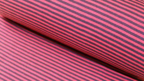Hamburger Liebe Rippbündchen: Ringelbündchen bordeaux-rot - 75 cm kaufen im Makerist Materialshop