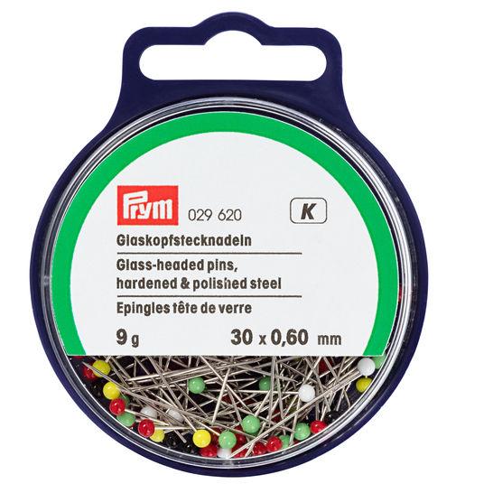 Glaskopfnadeln ST 0,60 x 30 mm bunt (WW029620) im Makerist Materialshop - Bild 2