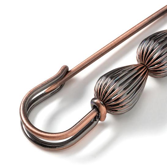 Schmucknadel Zapfen 80 mm bronze kaufen im Makerist Materialshop