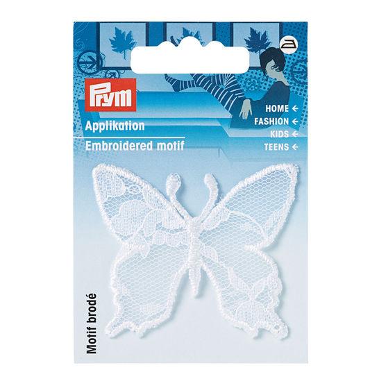 Applikation Schmetterling Spitze weiß kaufen im Makerist Materialshop
