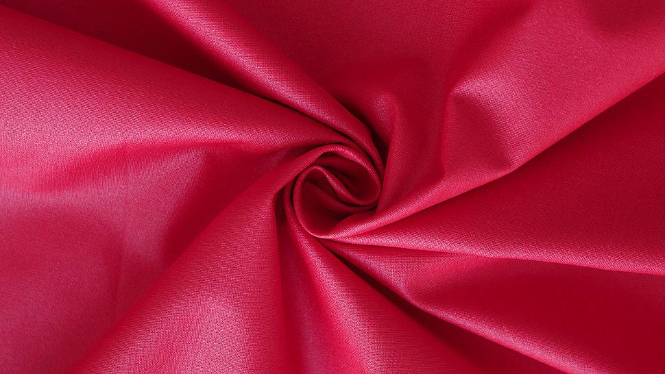 Rot beschichtetes Wachstuch: Luisa - 155 cm im Makerist Materialshop - Bild 2