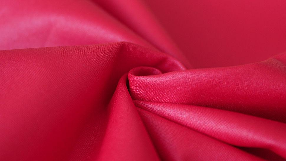 Rot beschichtetes Wachstuch: Luisa - 155 cm im Makerist Materialshop - Bild 3