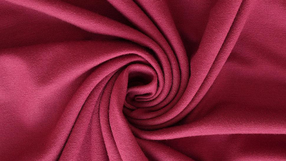 Viskosejersey uni weinrot: Ginza - 160 cm im Makerist Materialshop - Bild 2