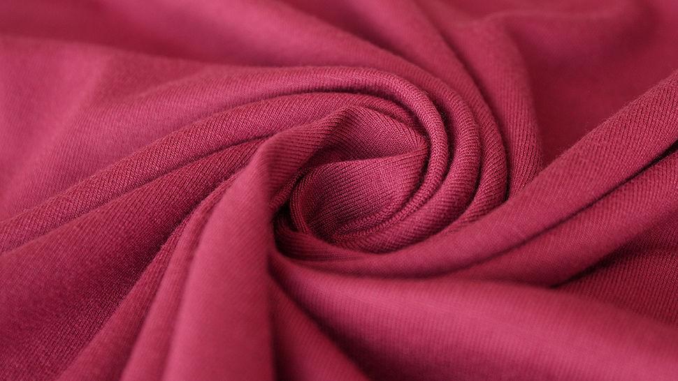 Viskosejersey uni weinrot: Ginza - 160 cm im Makerist Materialshop - Bild 3