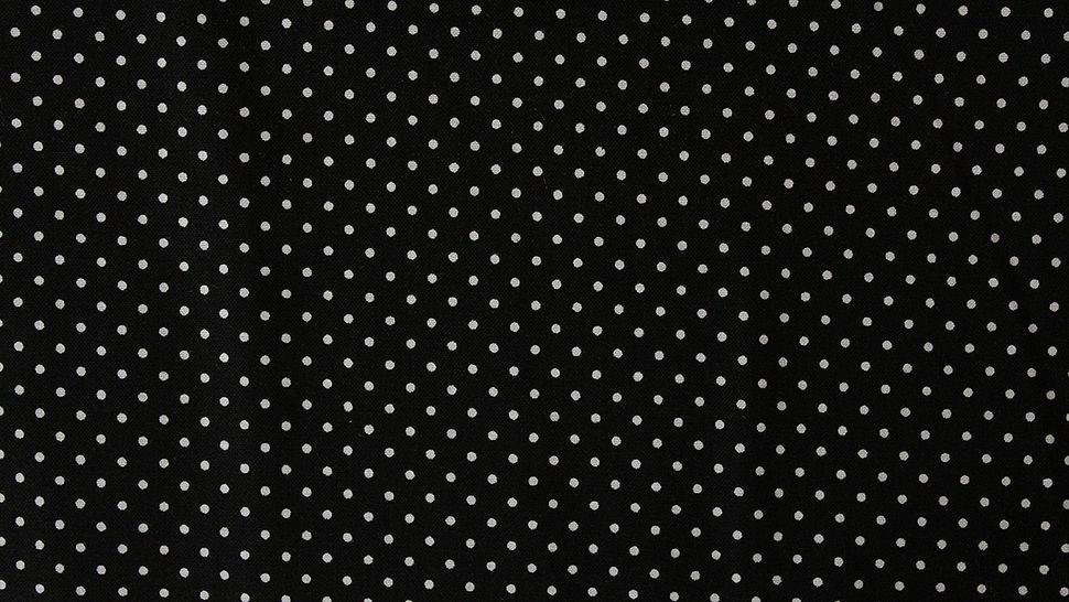 Baumwollstoff Polka Dot schwarz: Judith - 148 cm im Makerist Materialshop - Bild 4