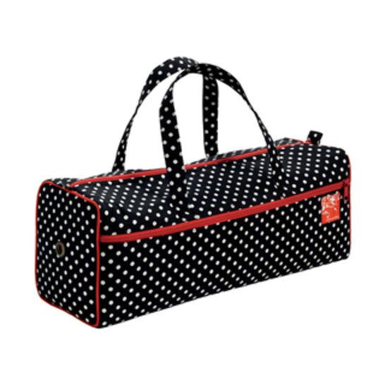 Handarbeitstasche Polka Dots schwarz/weiß kaufen im Makerist Materialshop