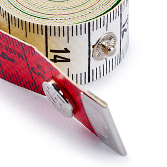 Maßband Color Plus mit Knopf 150 cm / cm kaufen im Makerist Materialshop