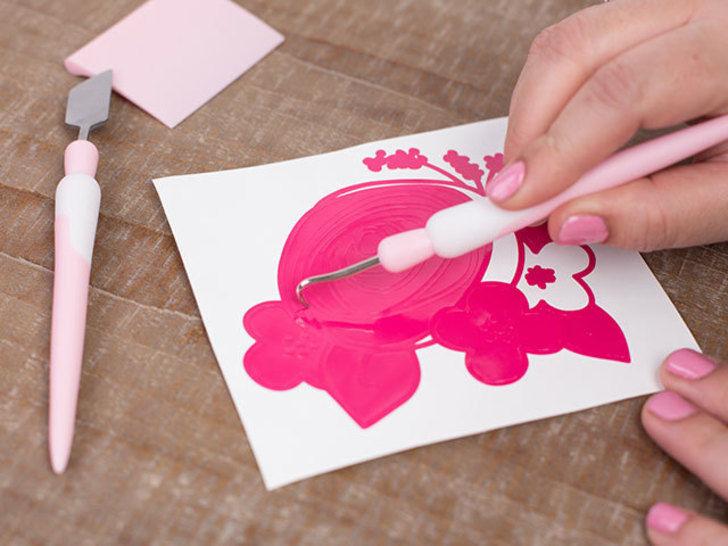 Pinkes Toolkit - Werkzeugset zum Plotten von SILHOUETTE im Makerist Materialshop - Bild 3