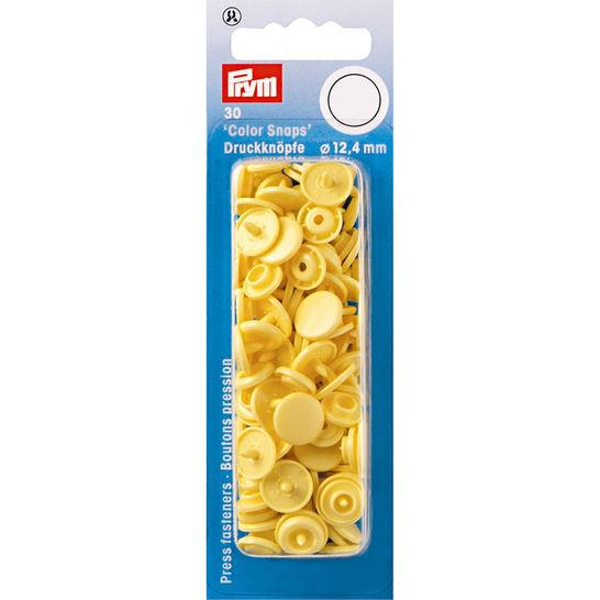 NF Druckkn Color Snaps rund 12,4 mm banane kaufen im Makerist Materialshop