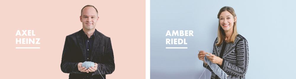 Axel & Amber, fondateurs