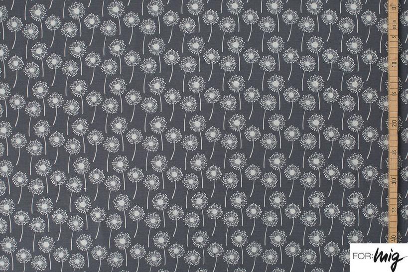 Lillestoff Modalstoff grau: Oda - 150 cm kaufen im Makerist Materialshop