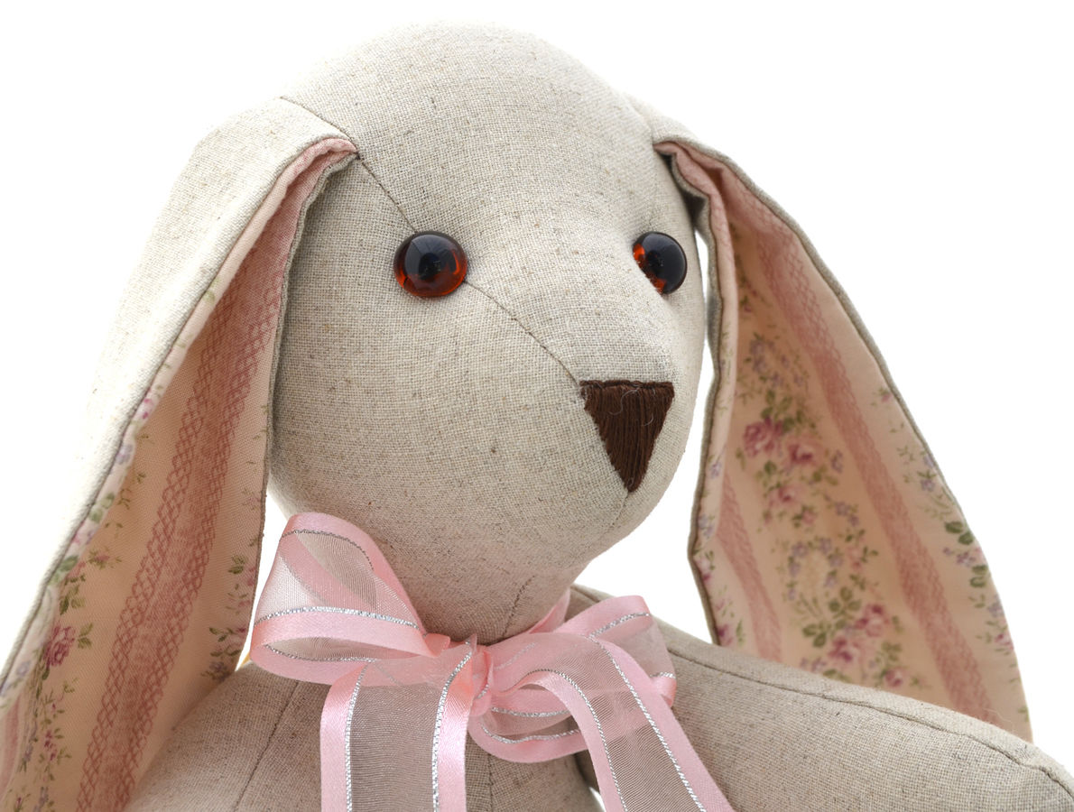 Floppy Eared Bunny Soft Toy Stuffed Toy Sewing Pattern