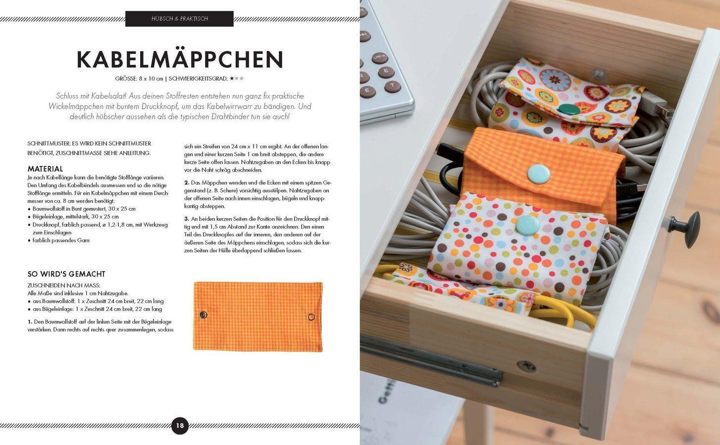 Schönes aus Stoffresten nähen - Das Makerist Nähbuch