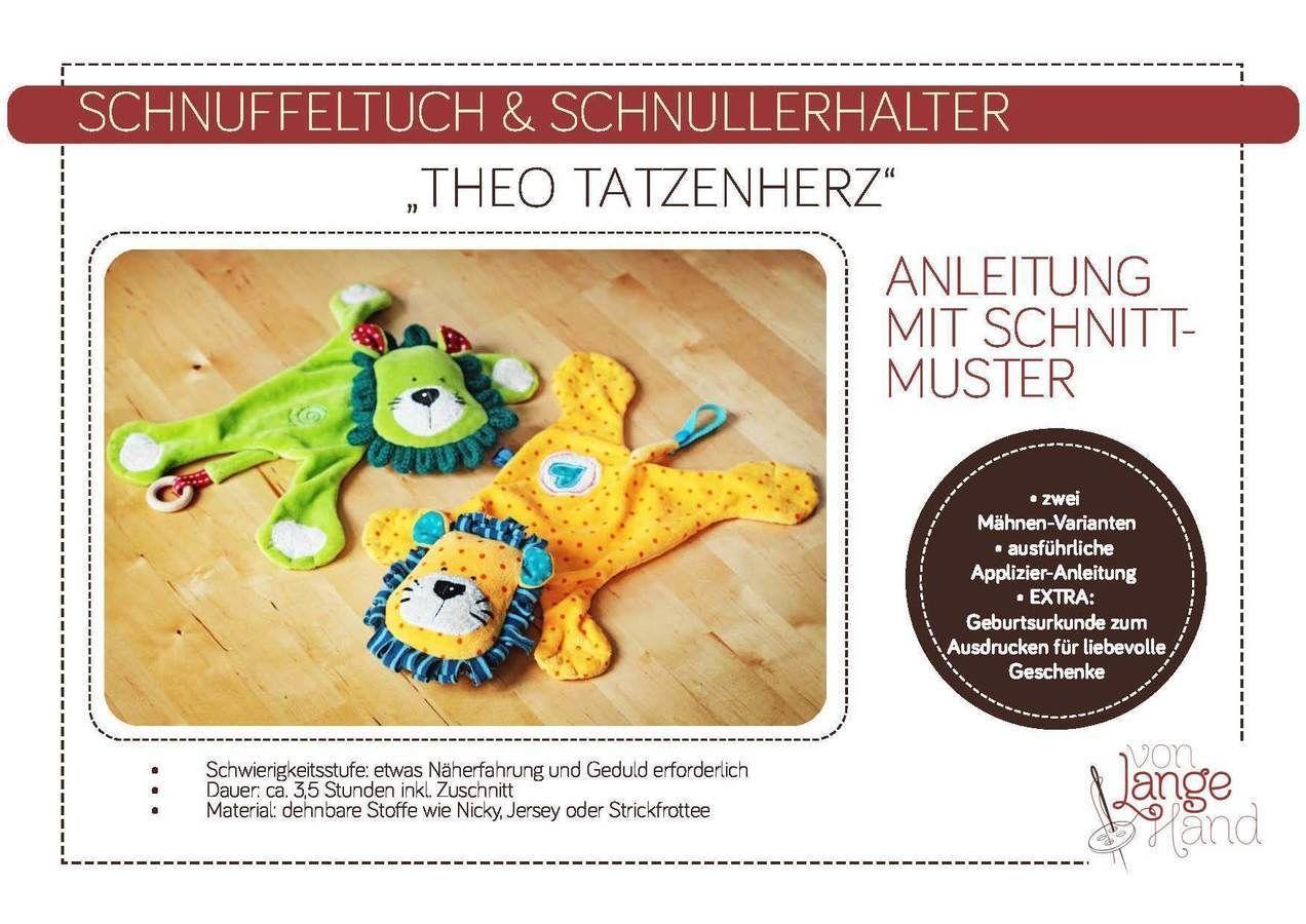 Schmuselöwe, Schnullerhalter & Schnuffeltuch \