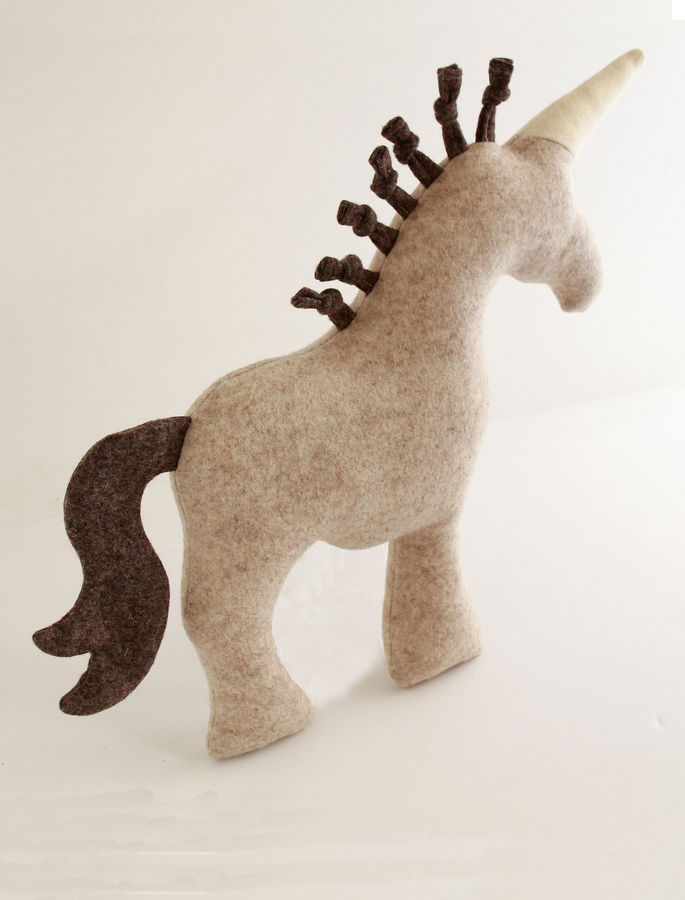 Unicorn Sewing Pattern Stuffed Toy Unicorn Step By Step