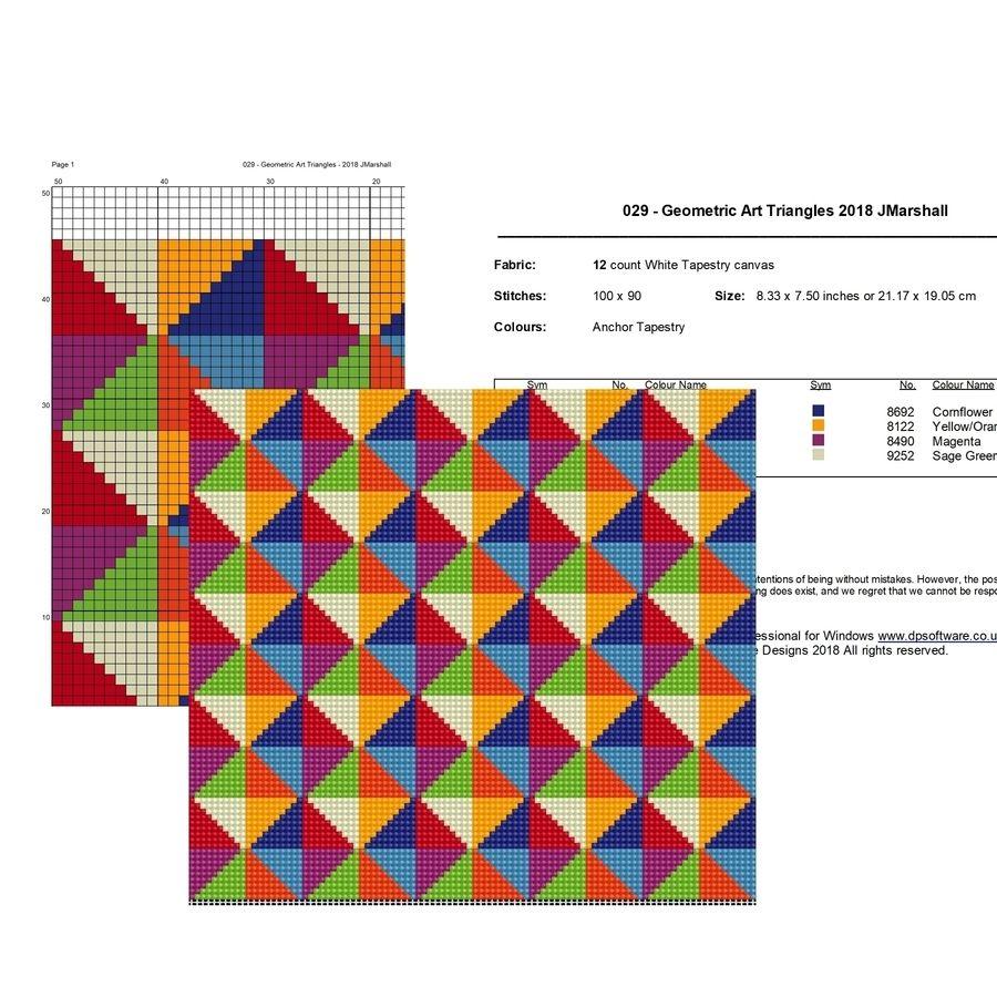 02bbd22aa80 Embroidery Design - Geometric Art