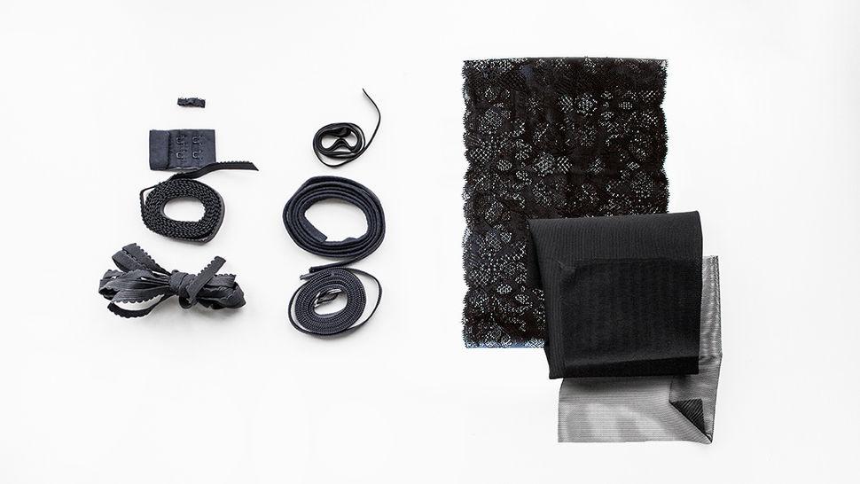 Schwarze Spitzen-BH Komplettbox: Julie kaufen im Makerist Materialshop