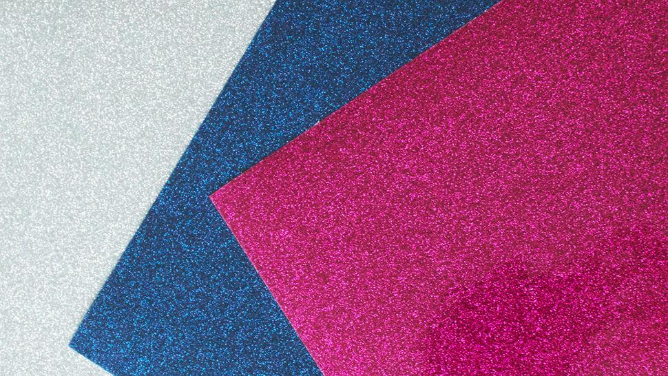 Acheter Flex brillant pailleté pour plotter - DIN A4 dans la mercerie Makerist