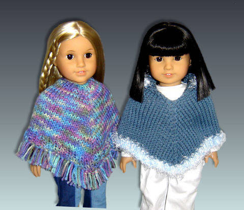 Download Doll Poncho immediately at Makerist