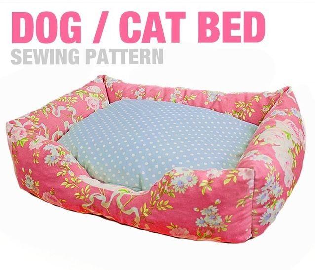 Sewing Pattern - Dog / Cat / Pet Bed - 3 Sizes - English Version - Nähanleitungen bei Makerist sofort runterladen
