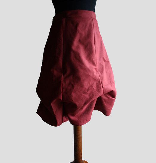 PDF Sewing Pattern - Romantic skirt for women - Nähanleitungen bei Makerist sofort runterladen