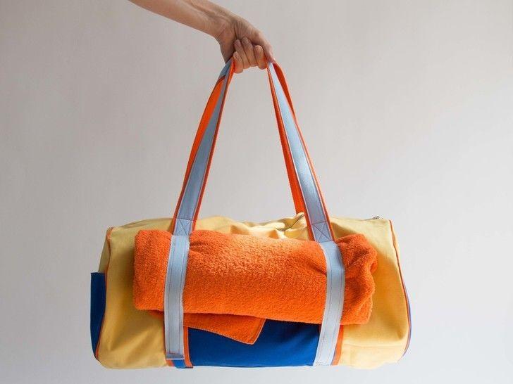 Yoga Strand Tasche mit Klettverschluss - Nähanleitungen bei Makerist sofort runterladen