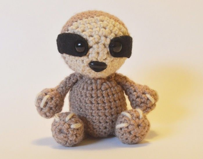 Download Crochet Sloth - Detailed pattern  - Crochet Patterns immediately at Makerist