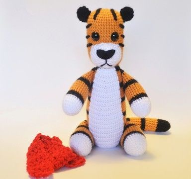 Download Crochet Tiger - Detailed Pattern - Crochet Patterns immediately at Makerist