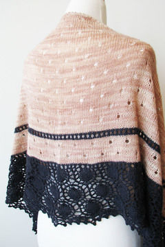 Download Oyster Shawl - Knitting Patterns immediately at Makerist