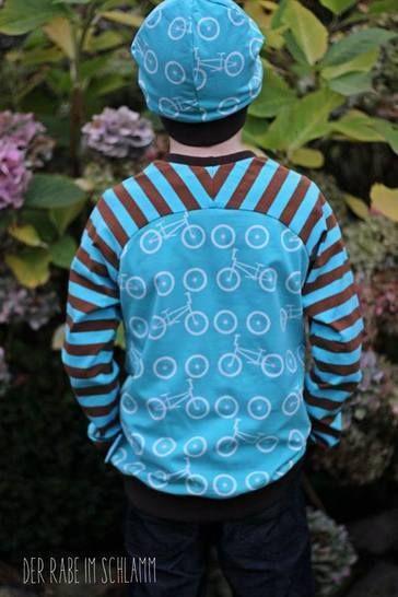 Download Versatile kids raglan shirt size 104-134 - Sewing Patterns immediately at Makerist