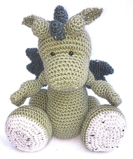 Download Dragon Hatchling - Crochet Patterns immediately at Makerist