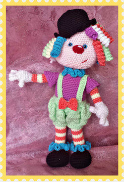 Download Sherbet, the Clown - Crochet Patterns immediately at Makerist