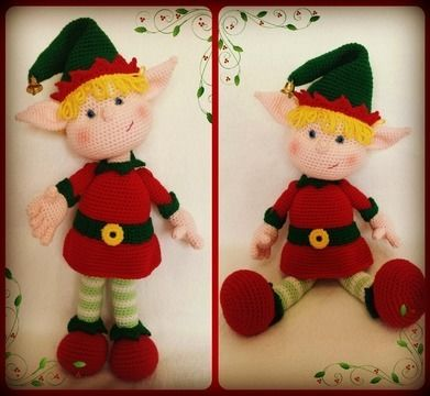 Download Eli, the Elf - Crochet Patterns immediately at Makerist