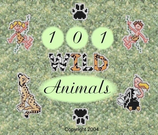 Download 101 Wild Animal Cross Stitch Motifs - Embroidery Patterns immediately at Makerist