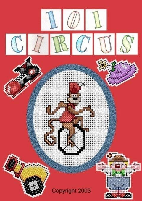 Download 101 Circus Cross Stitch Motifs immediately at Makerist
