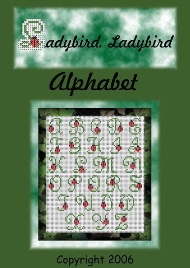 Download Ladybird Alphabet in cross stitch - Embroidery Patterns immediately at Makerist
