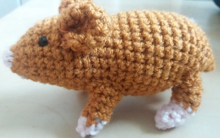 Download Hamster Amigurumi Crochet Pattern - Crochet Patterns immediately at Makerist