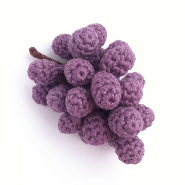 Download Grapes Crochet Pattern - Crochet Patterns immediately at Makerist