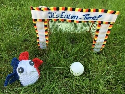 gehäkelte Fußballeule Frankreich| It's Eulen-Time bei Makerist sofort runterladen