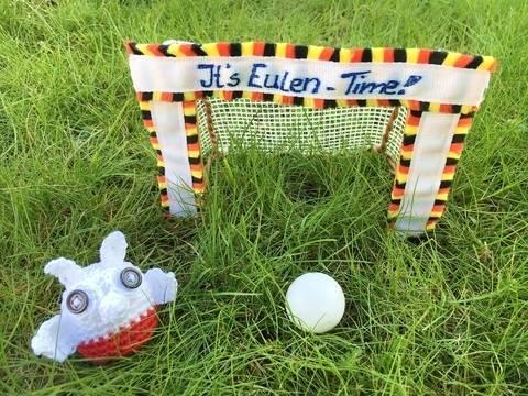 gehäkelte Fußballeule Polen| It's Eulen-Time bei Makerist sofort runterladen