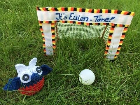 gehäkelte Fußballeule Russland| It's Eulen-Time bei Makerist sofort runterladen
