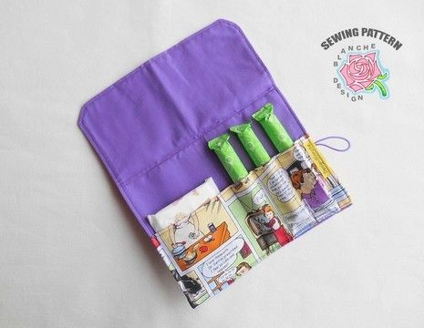 Download Pad & Tampon Holder Pattern - Sewing Patterns immediately at Makerist