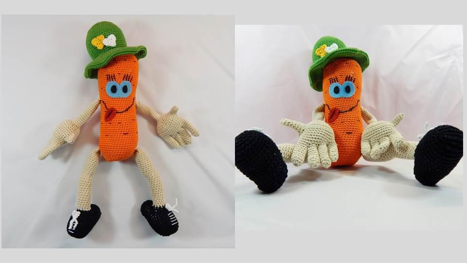 Häkelanleitung Lotte die Karotte