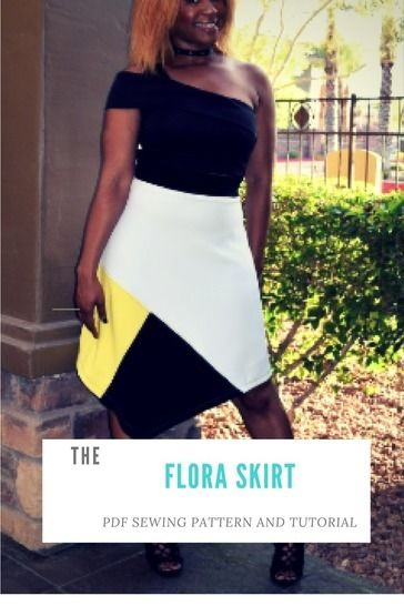 Download Flora Skirt - Sewing Patterns immediately at Makerist